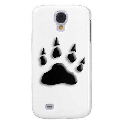 Impresión de la pata del oso polar