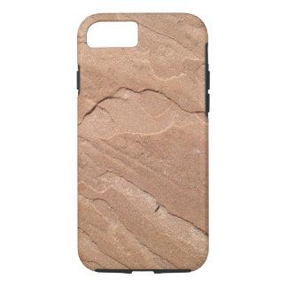Impresión de la piedra arenisca de la caja del funda iPhone 7