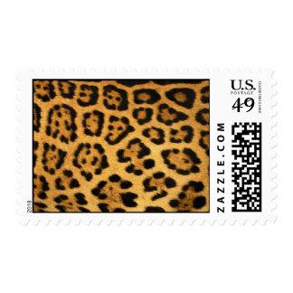 Impresión de la piel de Jaguar Estampilla