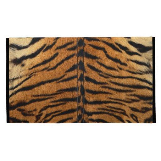 Impresión de la piel de la raya del tigre