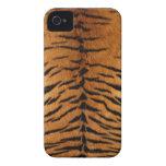 Impresión de la piel de la raya del tigre Case-Mate iPhone 4 fundas