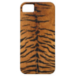 Impresión de la piel de la raya del tigre iPhone 5 Case-Mate fundas