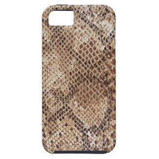 Impresión de la piel de serpiente iPhone 5 carcasa