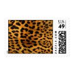 Impresión de la piel del leopardo franqueo