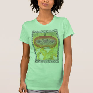Impresión de la pintura de la linterna del camiseta