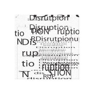 Impresión de la pintura de la lona de la interrupc impresión en lona