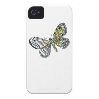 Impresión de la placa de mariposa del libro de los Case-Mate iPhone 4 coberturas