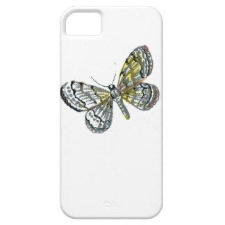 Impresión de la placa de mariposa del libro de los funda para iPhone 5 barely there