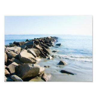 Impresión de la playa de Narragansett Rhode Island Fotografía