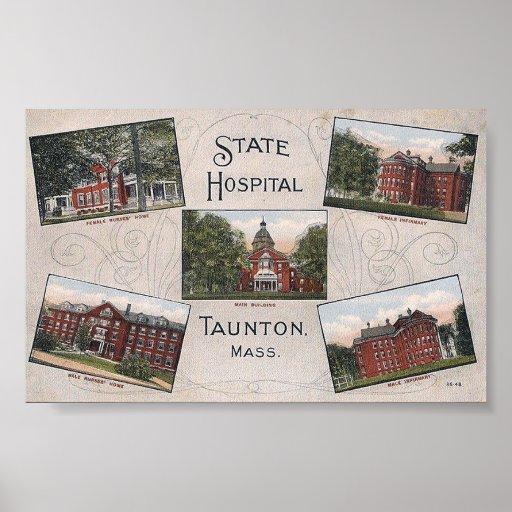 Impresión de la postal de la Multi-Vista del hospi Impresiones