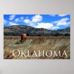 Impresión de la pradera de Oklahoma Impresiones