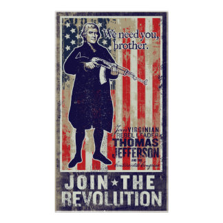 Impresión de la propaganda de la revolución de Jef Impresiones