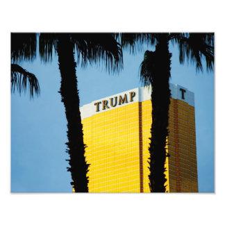 Impresión de la puesta del sol de Las Vegas de la  Arte Fotografico