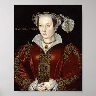 Impresión de la reina Catherine Parr