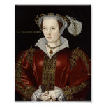 Impresión de la reina Catherine Parr Poster
