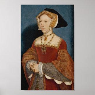 Impresión de la reina Jane Seymour