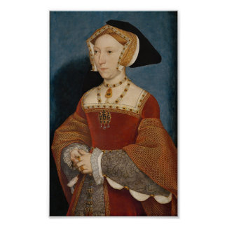 Impresión de la reina Jane Seymour Póster