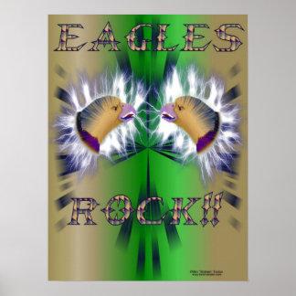 Impresión de la roca II de Eagles
