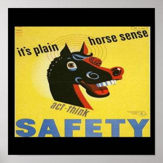 Impresión de la Segunda Guerra Mundial de la segur Posters