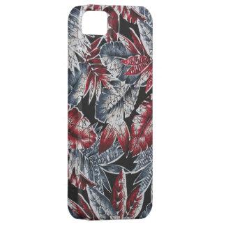 impresión de la selva del vintage funda para iPhone SE/5/5s