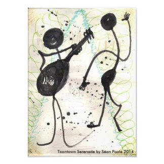 Impresión de la serenata de Toontown Fotografías