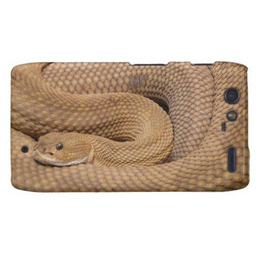 Impresión de la serpiente droid RAZR funda