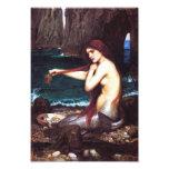 Impresión de la sirena del vintage de John William Impresion Fotografica