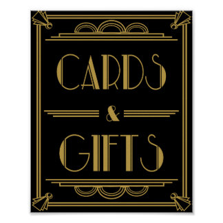 Impresión de la tabla de las tarjetas y de los póster