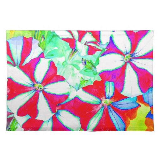 Impresión de la tela de la foto del arte de las fl mantel