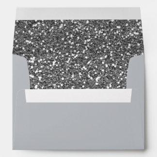 Impresión de la textura del fondo del brillo del sobre