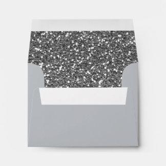 Impresión de la textura del fondo del brillo del sobres