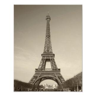 Impresión de la torre Eiffel Fotografía