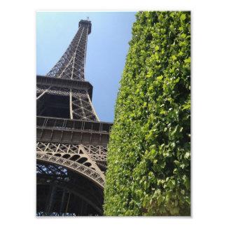 Impresión de la torre Eiffel Fotografia
