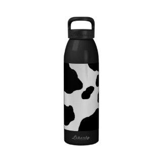 Impresión de la vaca de la diversión personalizada botella de beber