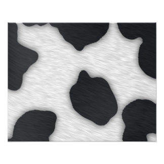 Impresión de la vaca lechera fotografia