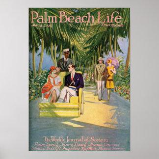 Impresión de la vida 10 del Palm Beach Impresiones