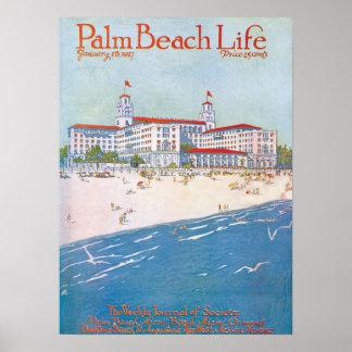 Impresión de la vida #11 del Palm Beach Póster
