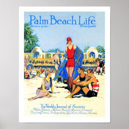 Impresión de la vida #13 del Palm Beach Poster