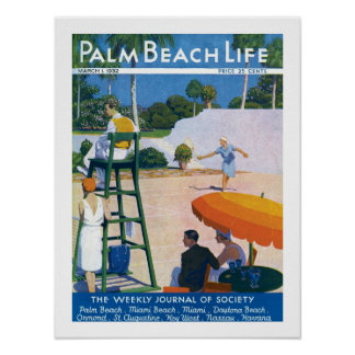 Impresión de la vida #14 del Palm Beach