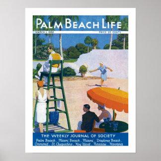 Impresión de la vida #14 del Palm Beach Póster