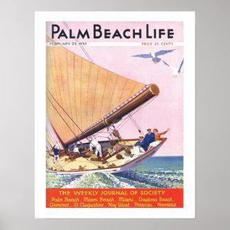 Impresión de la vida #15 del Palm Beach Póster