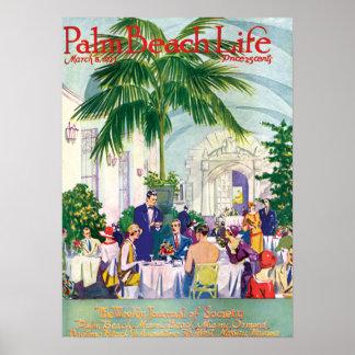 Impresión de la vida #16 del Palm Beach Poster