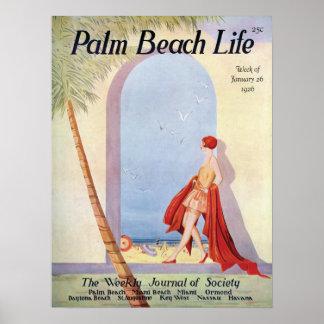 Impresión de la vida #18 del Palm Beach Póster