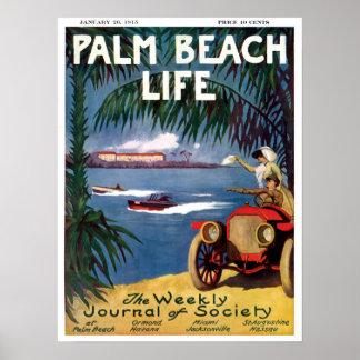 Impresión de la vida #19 del Palm Beach Póster