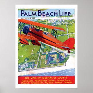 Impresión de la vida #1 del Palm Beach Poster