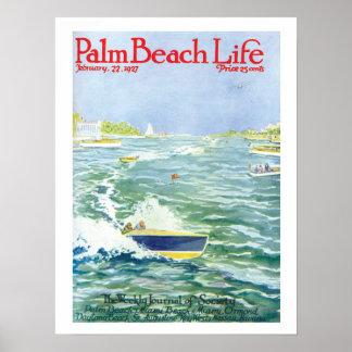 Impresión de la vida #2 del Palm Beach Póster