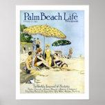 Impresión de la vida #3 del Palm Beach Poster