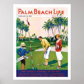 Impresión de la vida #5 del Palm Beach Póster