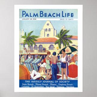 Impresión de la vida #8 del Palm Beach Póster