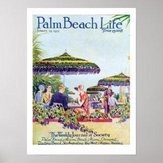 Impresión de la vida #9 del Palm Beach Póster